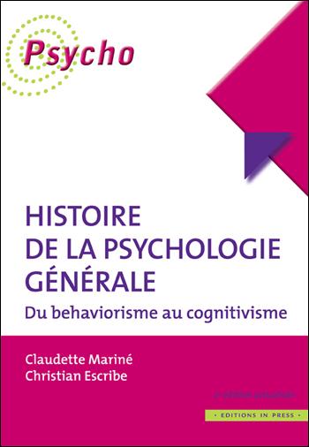 Histoire de la psychologie générale – 2ème édition