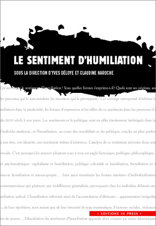Le sentiment d'humiliation