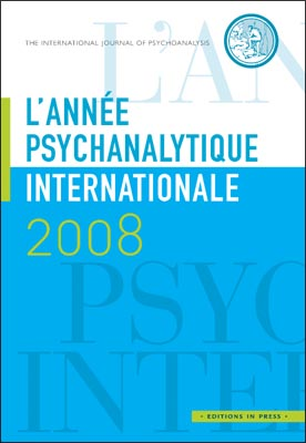 L'année psychanalytique internationale 2008