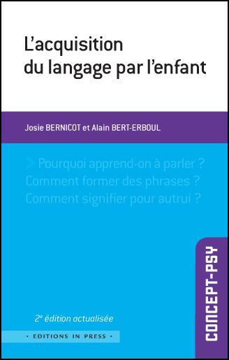L'acquisition du langage par l'enfant
