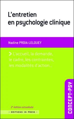 L'entretien en psychologie clinique