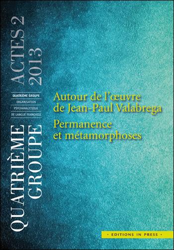 Couv_groupe4_Actes2_Autour de l'oeuvre de JP Valabrega
