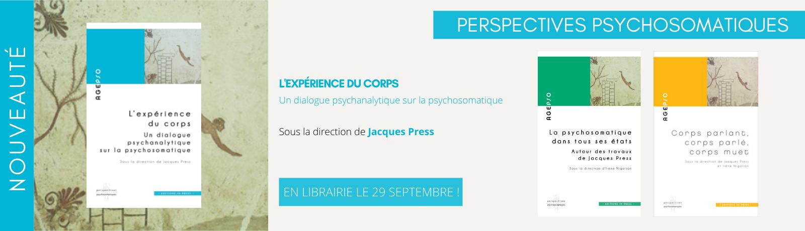 Bannières Site In Press Perspectives psychosomatiques